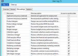 GDPR tool for Microsoft Dynamics AX 2012