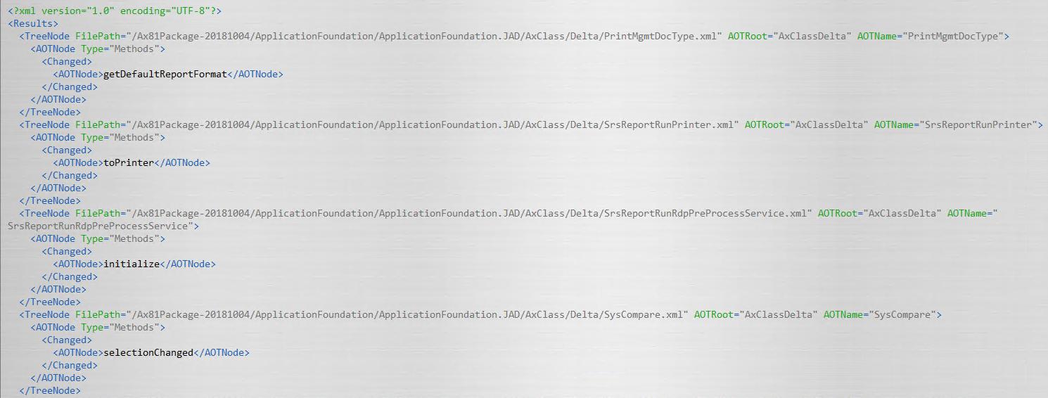 Find standard code overlayering in Dynamics 365 FO - DAXRunBase