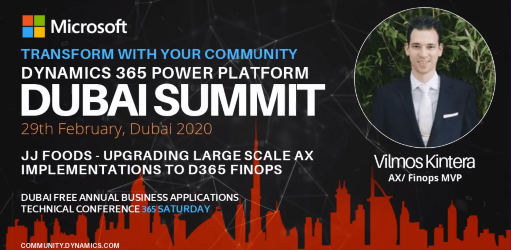 Dubai Summit 2020